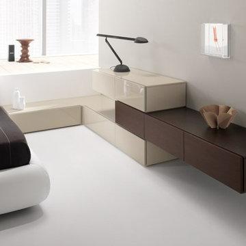 877-777-3771 New York NYC Modern Bedroom Design by Spar, Italy