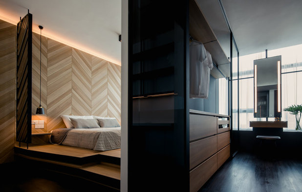 Contemporary Bedroom by Studio Wills + Architects