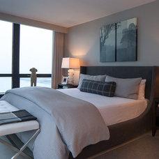 Contemporary Bedroom by jamesthomas, LLC