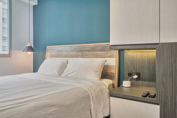 Scandinavian Bedroom by DB Studio