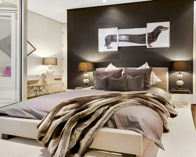 Contemporary Bedroom by Interior Marketing Group