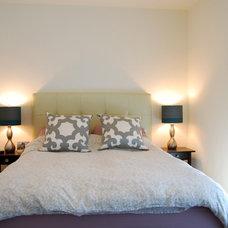 Contemporary Bedroom by Megan Buchanan