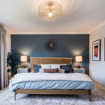 A Casual and Traditional Master Suite