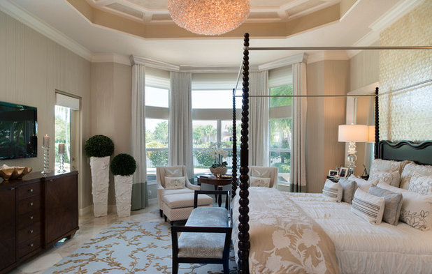 Классический Спальня by Rossi Interiors, Inc.
