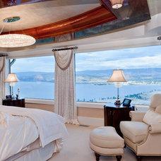Contemporary Bedroom by Okanagan Dream Builders Ltd.