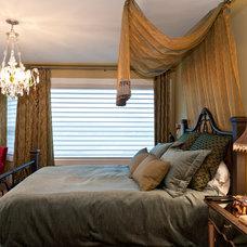 Eclectic Bedroom by Okanagan Dream Builders Ltd.