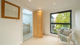 A fabulous loft conversion, kitchen extension and house renovation project