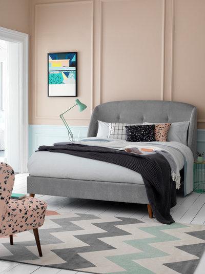 ミッドセンチュリー 寝室 by Button & Sprung
