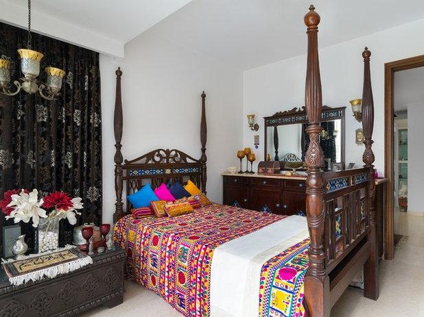 Indian Bedroom by Deepak Aggarwal Photography