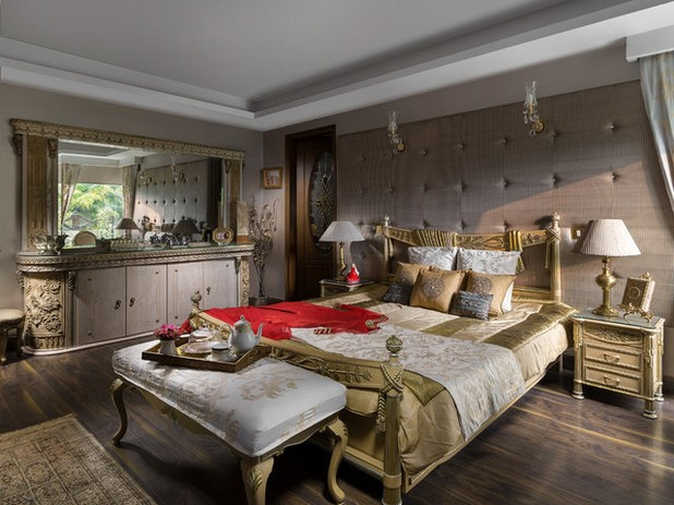 American Traditional Bedroom by Deepak Aggarwal Photography
