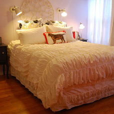Eclectic Bedroom by Nicole Lanteri, On My Agenda LLC