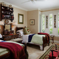 Traditional Bedroom by GIL WALSH INTERIORS