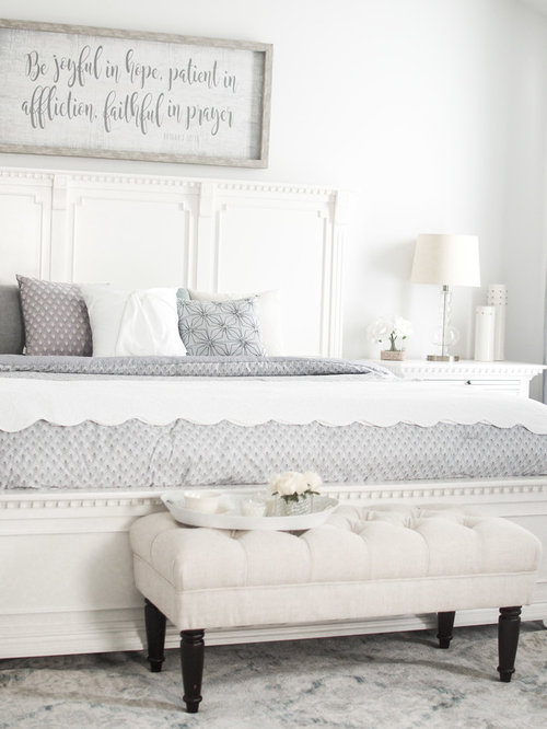 A Light Airy Master Bedroom