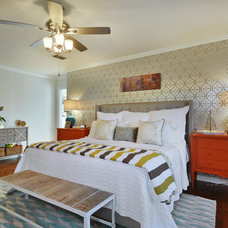 Transitional Bedroom by turnstyle / giggle-room