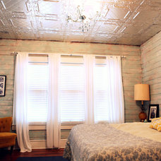 Eclectic Bedroom A Modern  and Romantic Master Bedroom