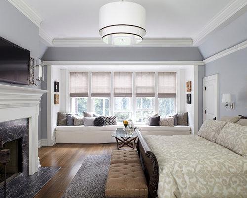 traditional bedroom design ideas, remodels  photos  houzz, Bedroom decor
