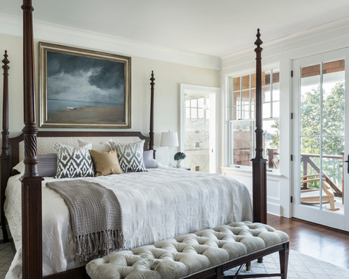Teak Four Poster King Size Bed Houzz