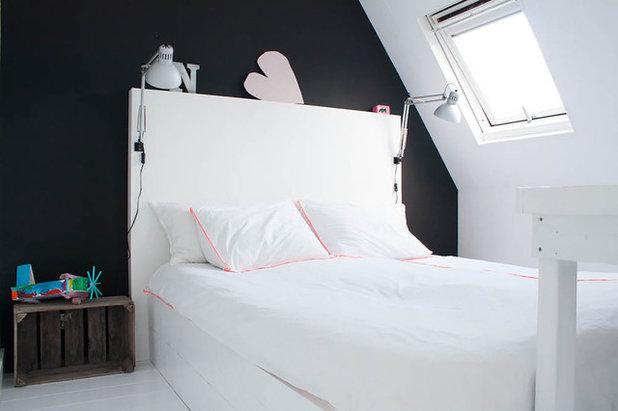 eklektisch schlafzimmer by louise de miranda - Wie Man Ein Kopfteil Baut