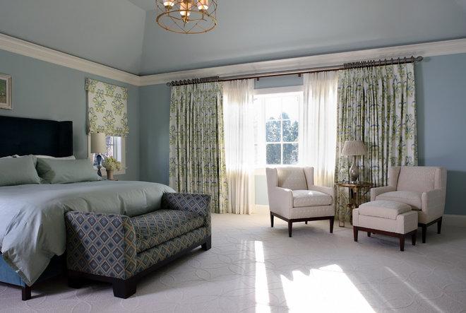 Contemporary Bedroom by Sroka Design, Inc.