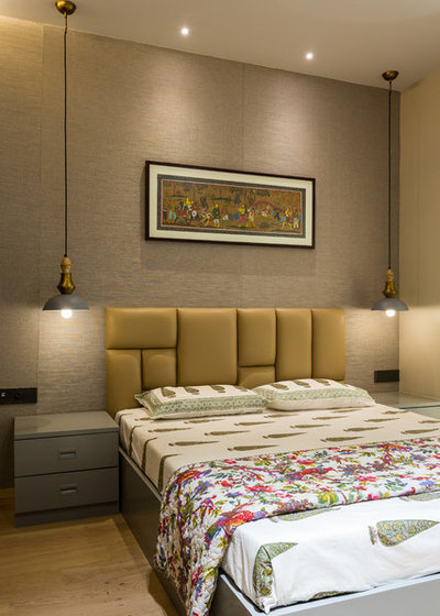 Contemporary Bedroom by Indrajit Sathe