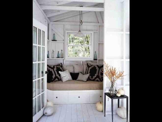 Beach Style Bedroom by SchappacherWhite Architecture D.P.C.