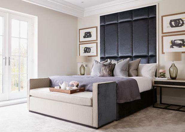 Stylische Idee fürs Schlafzimmer: Die Bettbank ist wieder da!