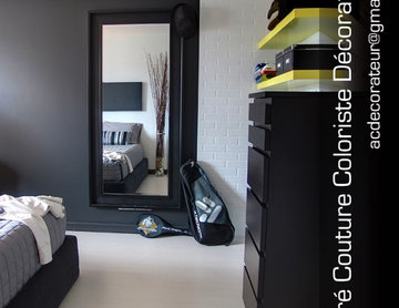 A student bedroom