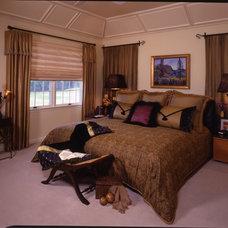 Eclectic Bedroom by Marlene Wangenheim AKBD, CAPS, Allied Member ASID