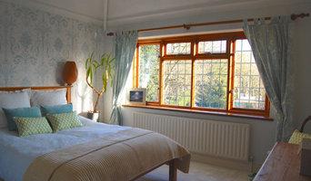 Coastal Inspired Guest Bedroom