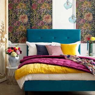 A Vibrant Eclectic Master Bedroom