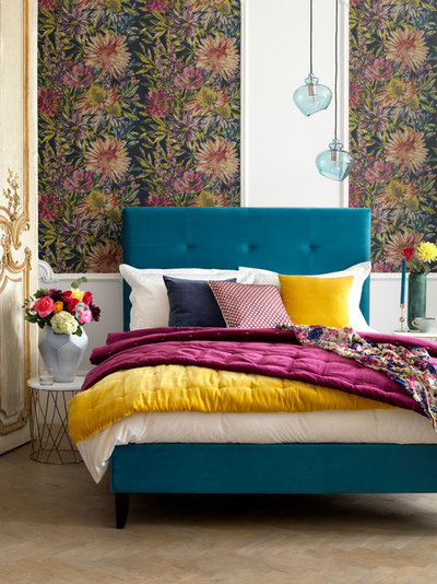 Eclectic Bedroom by Button & Sprung