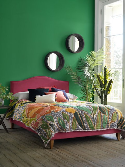 Tropical Bedroom by Button & Sprung