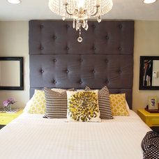 Transitional Bedroom by JenReyesArtistry (Decorative & Faux Finishes)