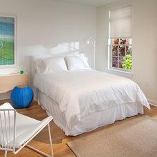 Contemporary Bedroom by Morgan Howarth Photography