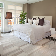 Contemporary Bedroom by Morgan Howarth Photography