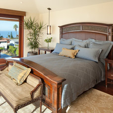 Traditional Bedroom by Hill Construction Company