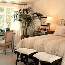 Traditional Bedroom by Lila Levinson
