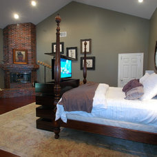 Traditional Bedroom by TV Lift Cabinet by Cabinet Tronix