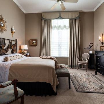 Act I - Mocha-Chocolate Master bedroom