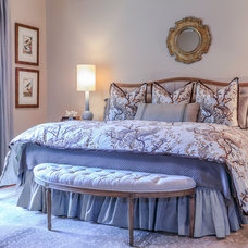 Traditional Bedroom by Historically Modern Interiors