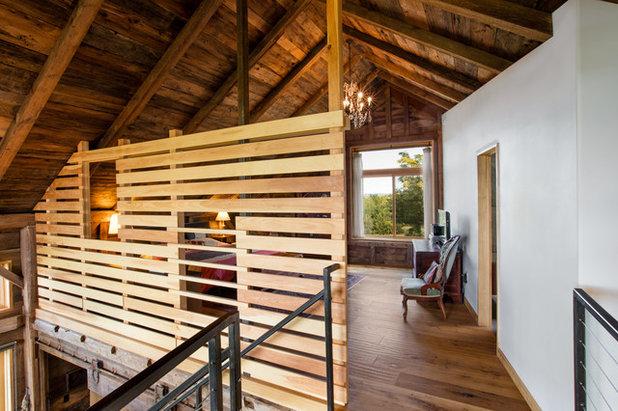 Farmhouse Bedroom by Silver Maple Construction LLC