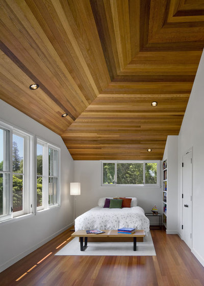 Contemporary Bedroom by Cathy Schwabe Architecture