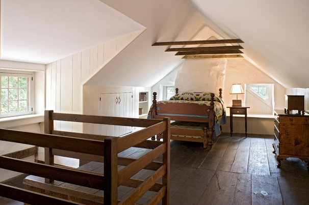 Farmhouse Bedroom by Peter Zimmerman Architects