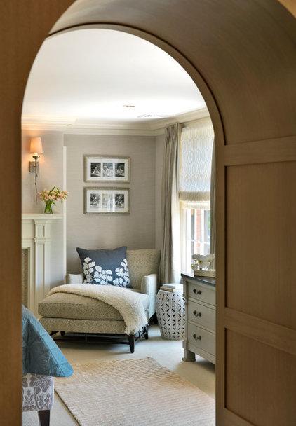 Transitional Bedroom by Meyer & Meyer, Inc.
