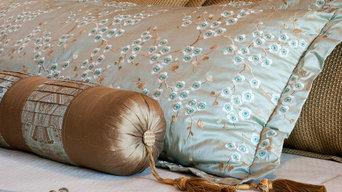 © by Adrette - custom bedding, pillows & neckroll
