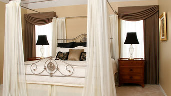 © by Adrette - custom draperies, sheers, and bed coverings