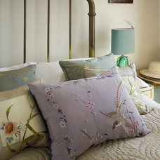 Eclectic Bedroom by Adrienne Chinn Design