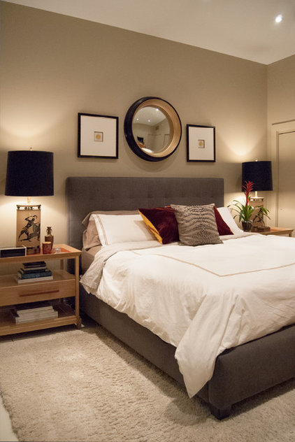 Modern Bedroom by Adrienne DeRosa