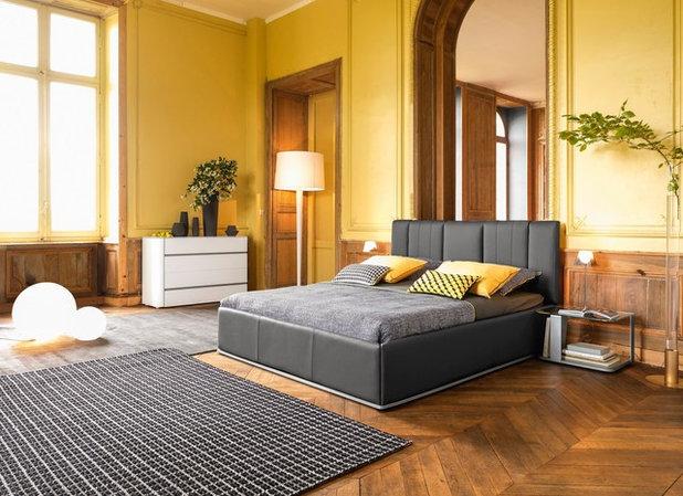 Camera Da Letto Blu Cobalto : Camera da letto maschile colori imprevedibili che funzionano