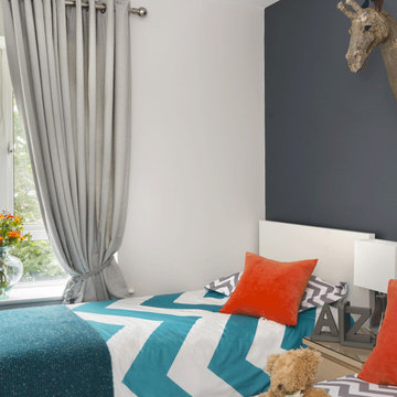"""AFTER: The Kids bedroom with a """"Dash of Colour"""""""